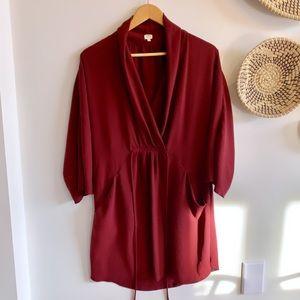 Aritzia Wilfred Long Sleeve Dress Medium Sabine